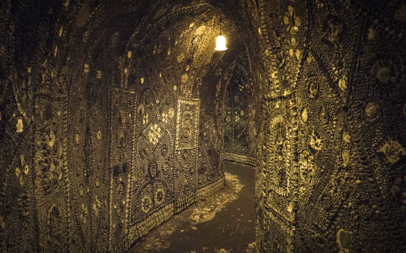 Shell Grotto in Margate, Kent, England