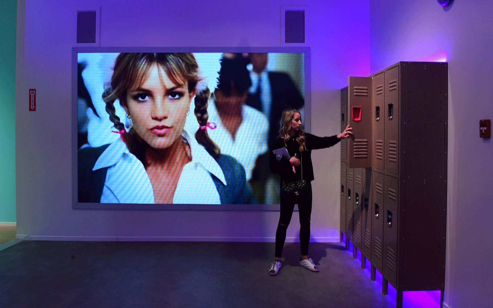 Britney Spears' Exhibit  The Zone