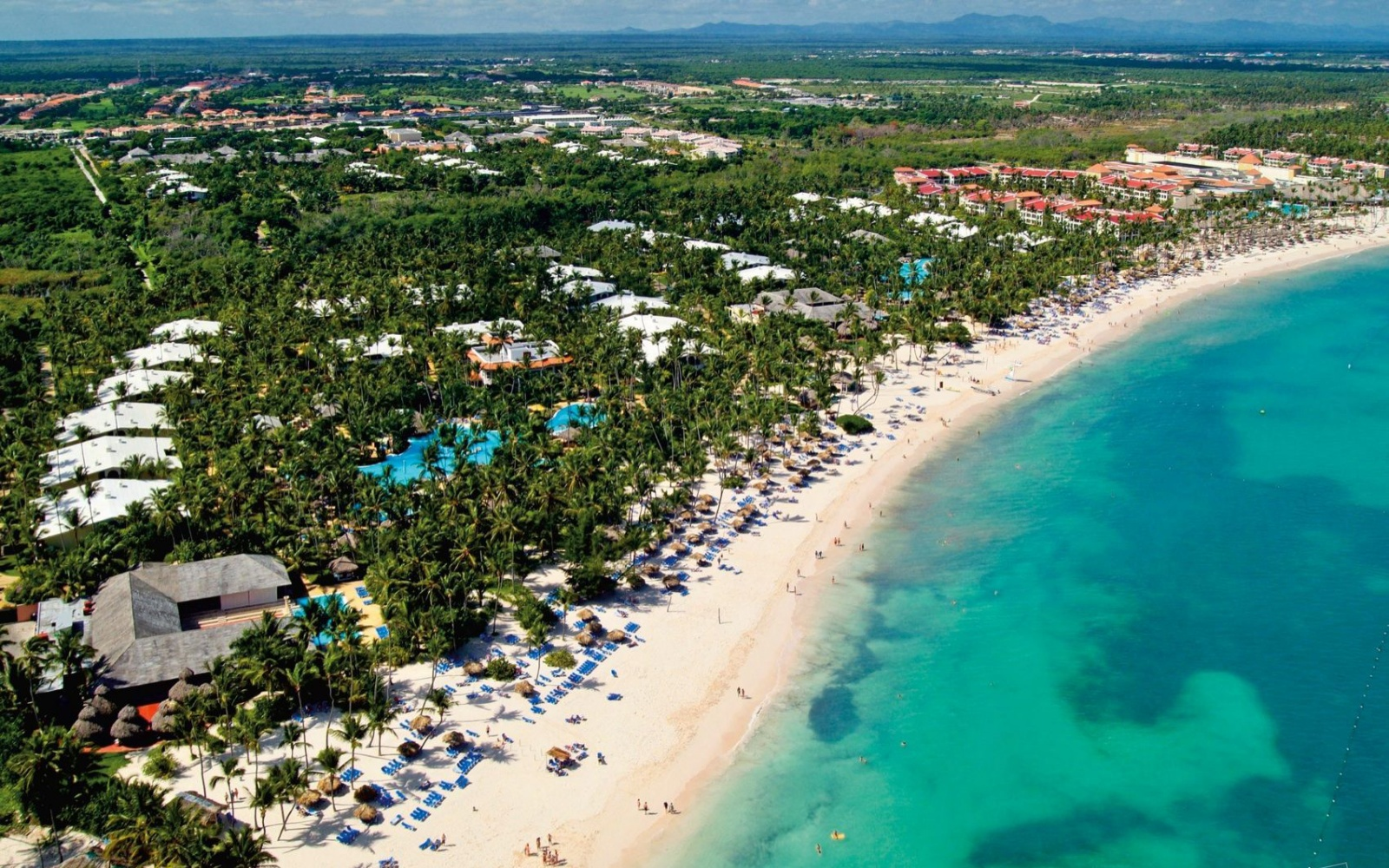 aerial of Meliã Caribe Tropical, DR