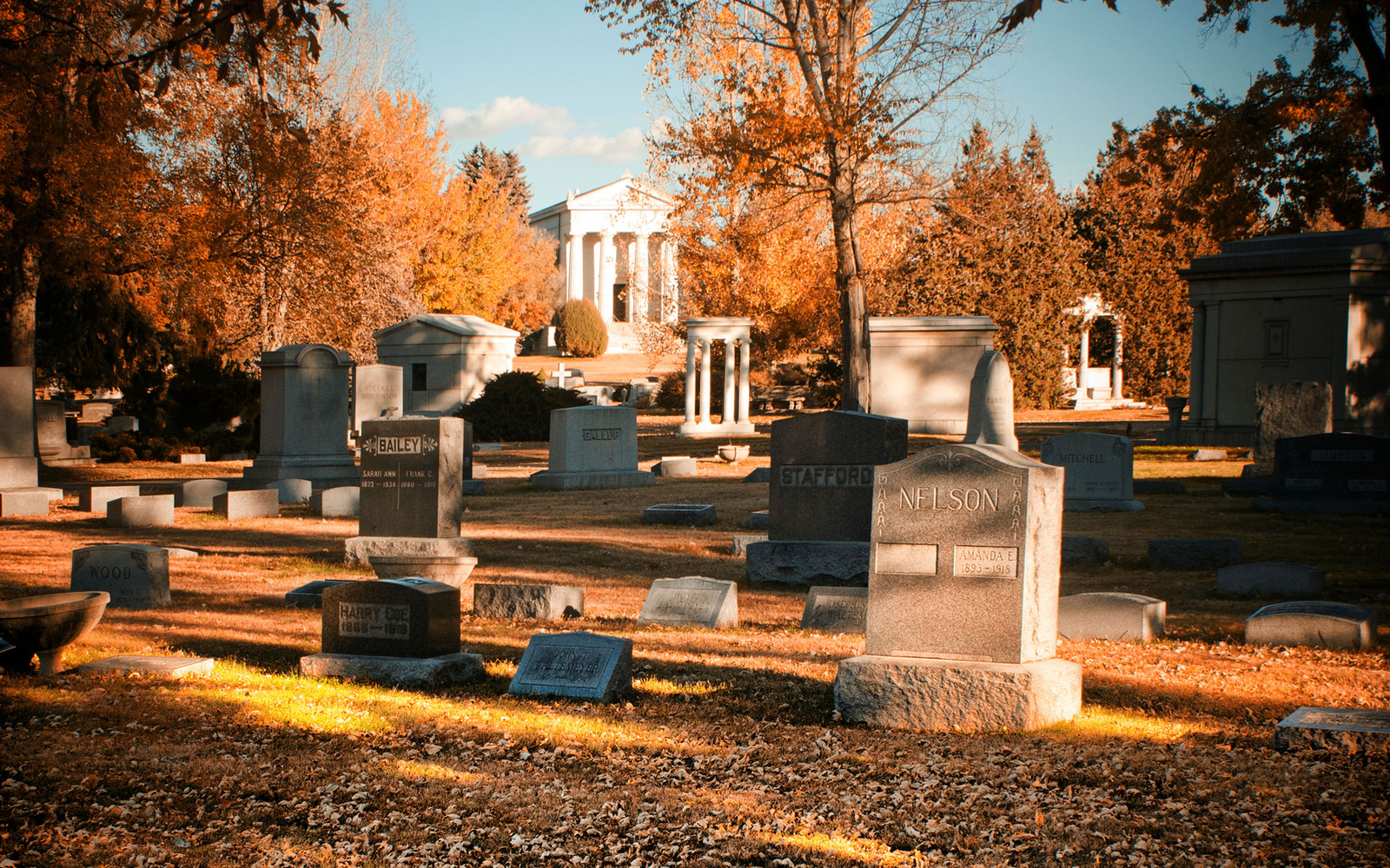 cemetary in Aspen, Colorado