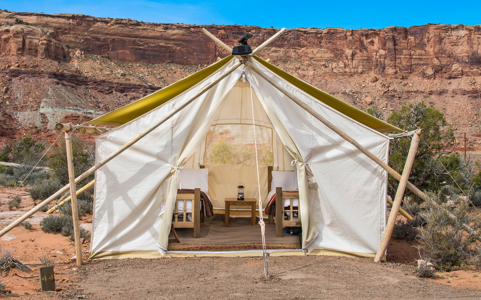 Camp Without Roughing It in Utah