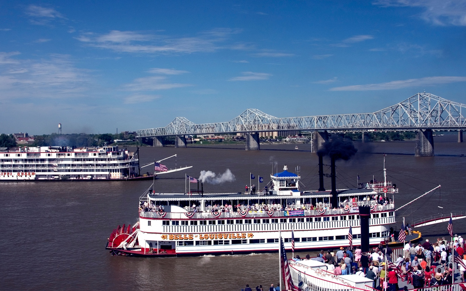 old riverboats in Louisville, KY