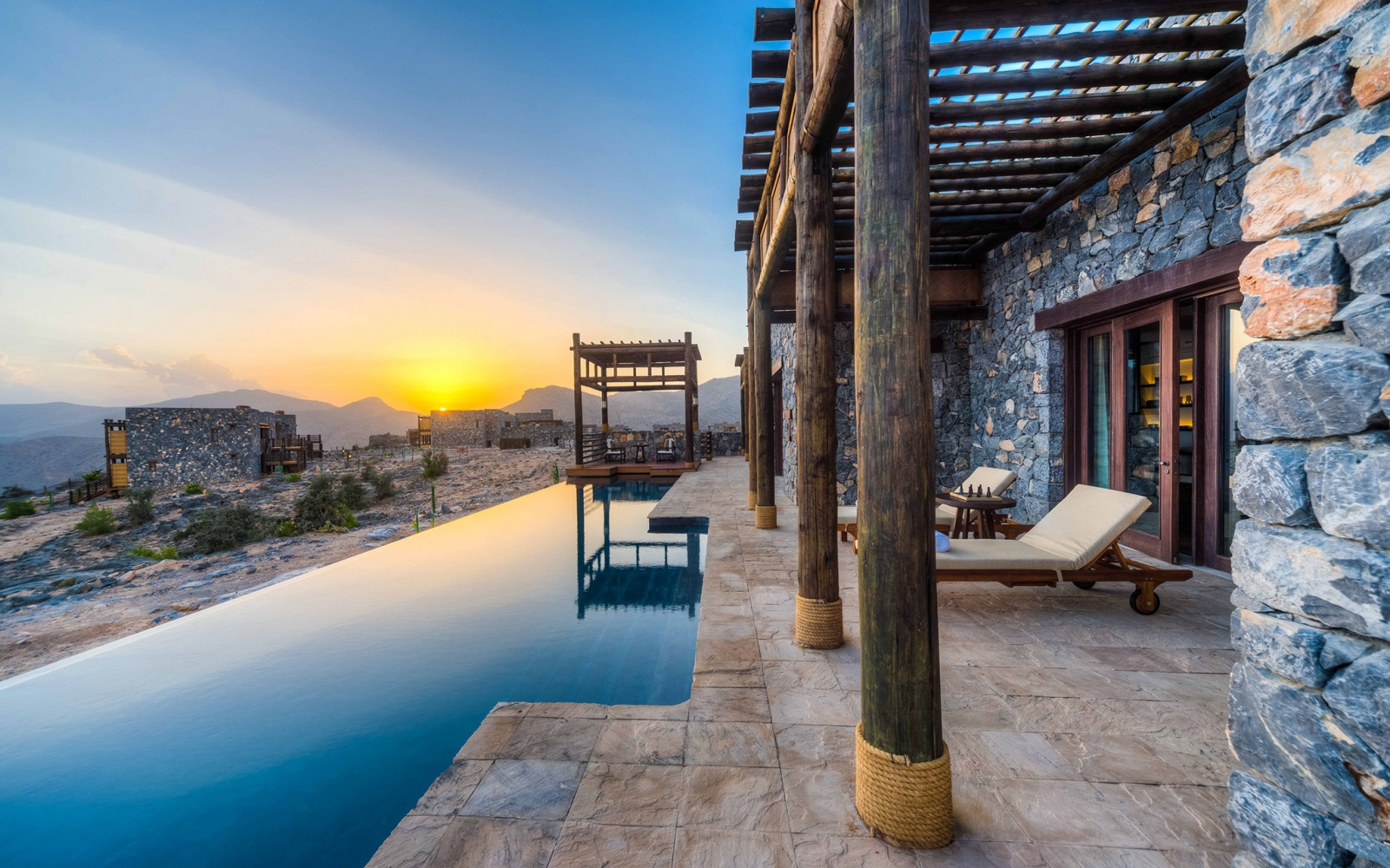 Alila Jabal Akhdar Resort in Muscat, Oman