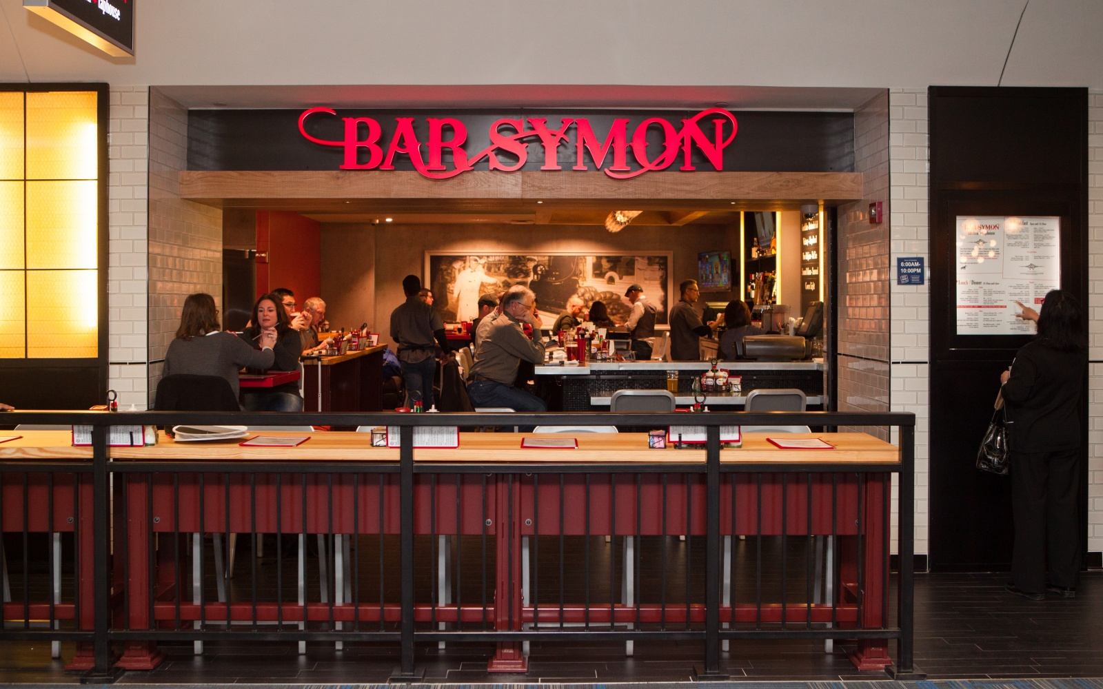Bar Symon at Washington-Dulles International Airport in D.C.