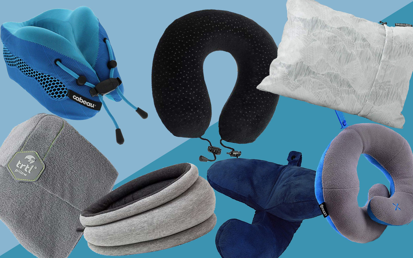 14 Best Travel Pillows Neck Support For The Airplane Travel