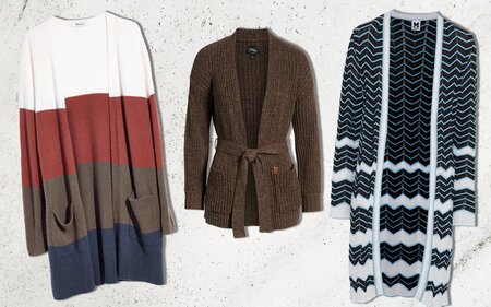 ad69a5fc24 11 Cozy Cardigans to Keep You From Freezing on a Plane