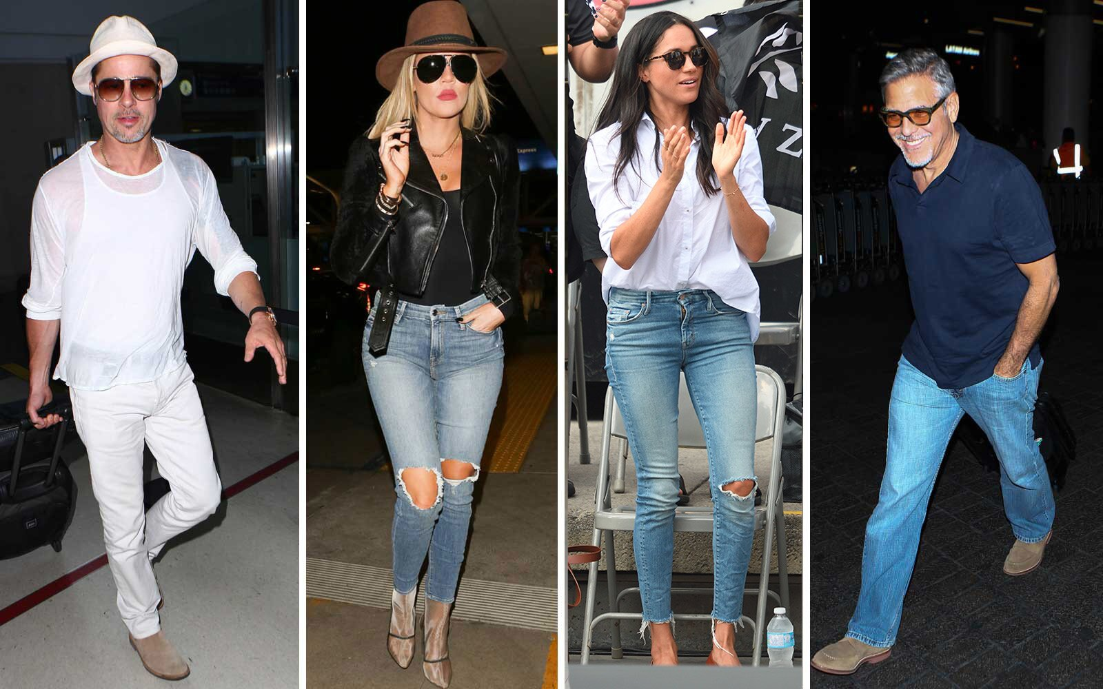 a966425ef1a 13 Pairs of Jeans Celebrities Wear When They Travel