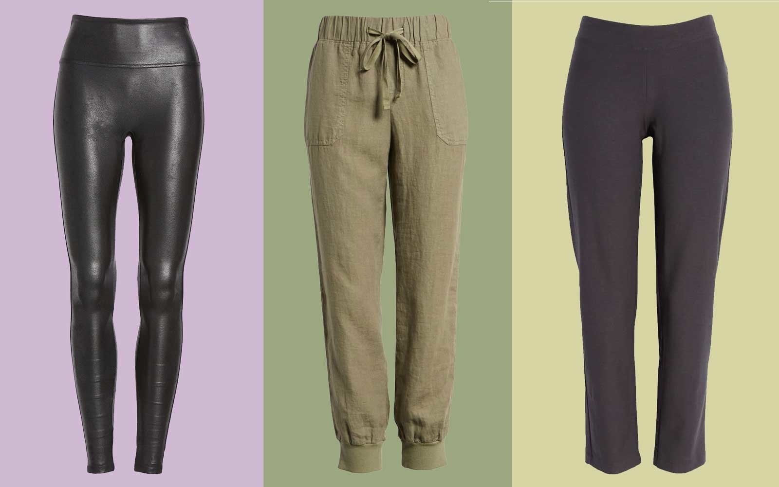 comfy leggings and pants for travel