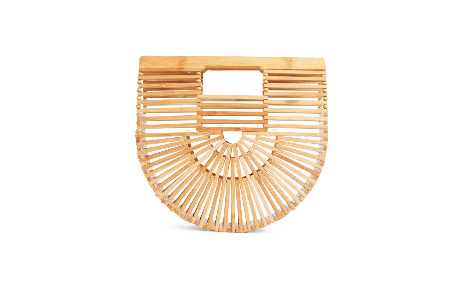 Bamboo Clutch Bag