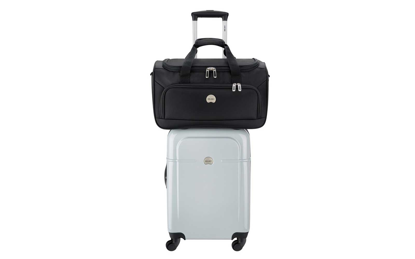 Delsey Air Quest Carry-On Spinner with Bonus Duffel