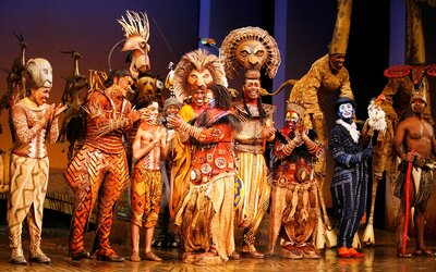 Watch The Broadway Casts Of The Lion King And Aladdin Have A