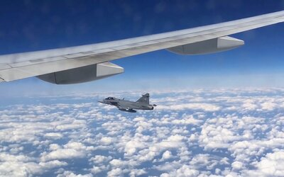 Fighter Jets Intercept Two Commercial Flights in Three Days