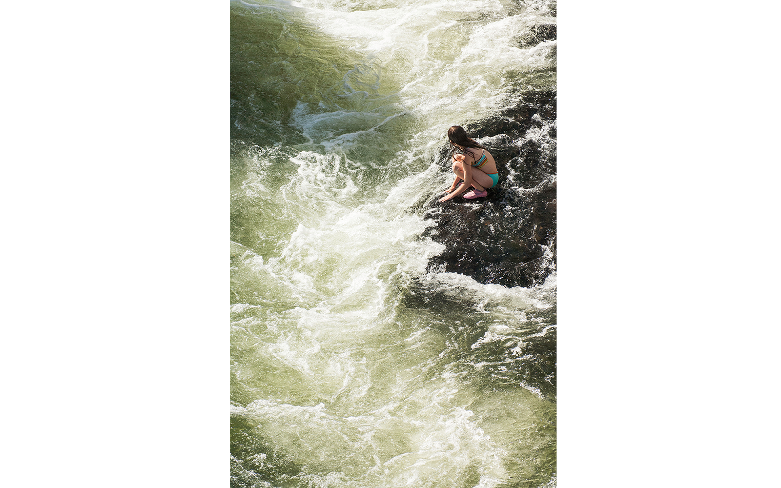 Firehole River Swimming Area in Yellowstone National Park, WY