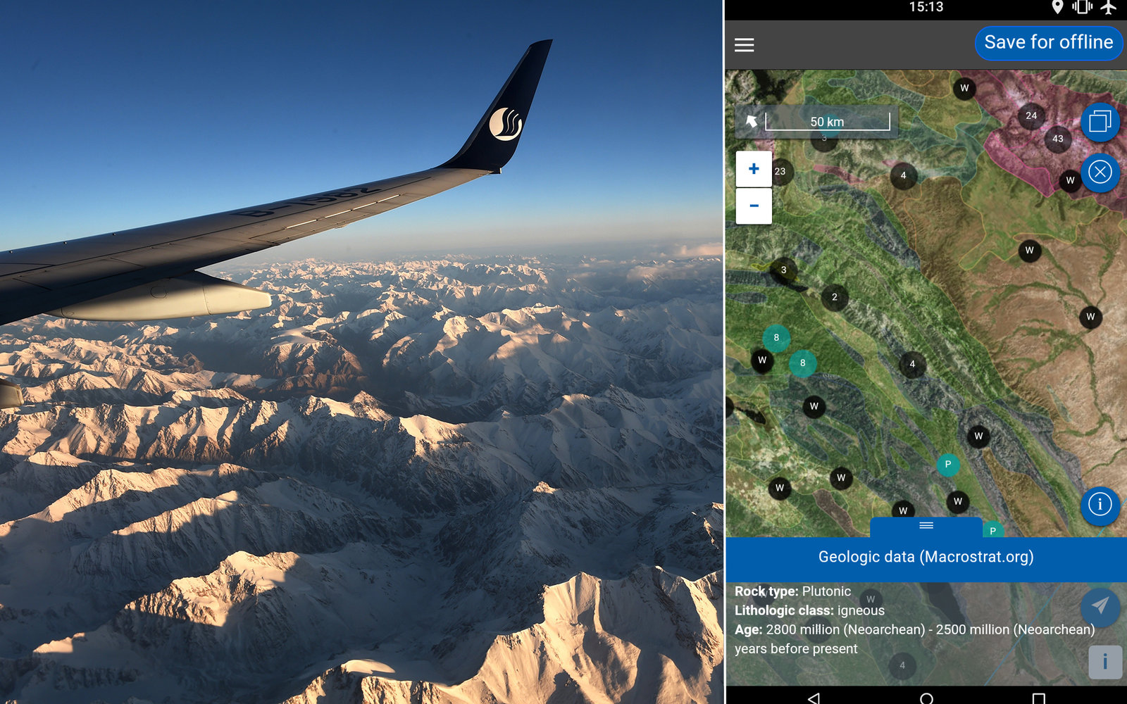 This App Will Tell You What is Outside Your Airplane Window