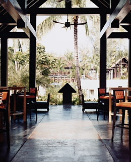 The Ten Mile restaurant at the Indigo Pearl, in Phuket, Thailand.