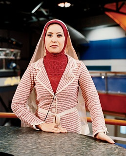 A news anchor at Al-Jazeera