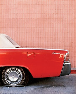 A 50's Lincoln Continental.