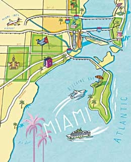 From Coral Gables to Little Haiti, we've mapped out Miami's top neighborhoods.