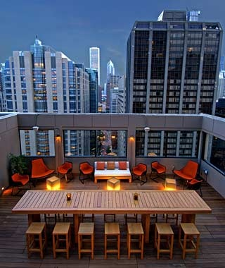 Chicago: C-View at the Affinia Hotel