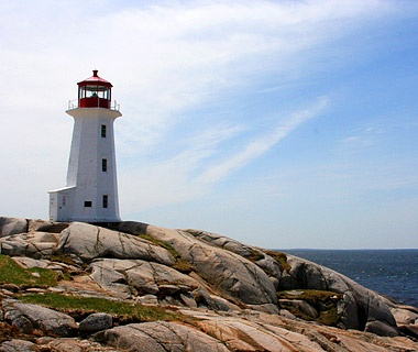 Following the Lighthouse Route in Nova Scotia
