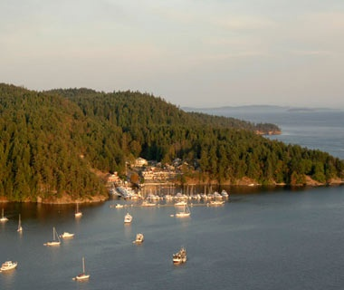British Columbia: North and South Pender Islands