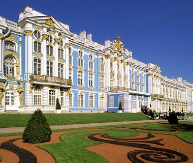 Catherine Palace, Outside St. Petersburg,Russia