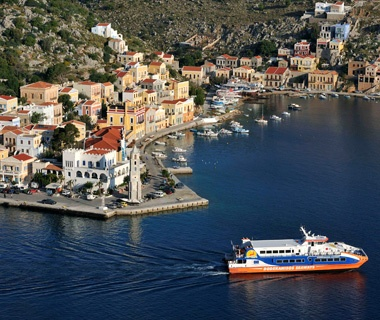 Greece: Between Rhodes and Symi