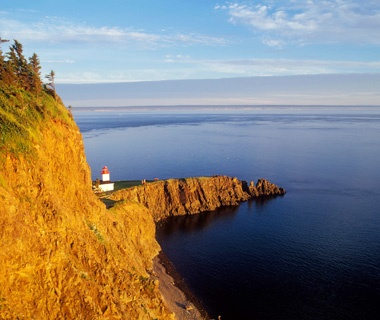 Canada: Between St. John in New Brunswick and Digby in NovaScotia