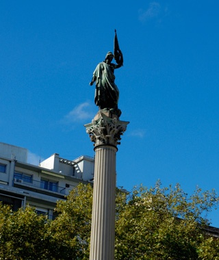 The Statue of Peace, Montevideo, Uruguay