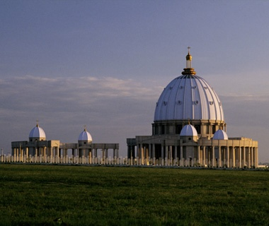 Biggest Church: The Basilica of Our Lady of Peace, Yamoussoukro, IvoryCoast