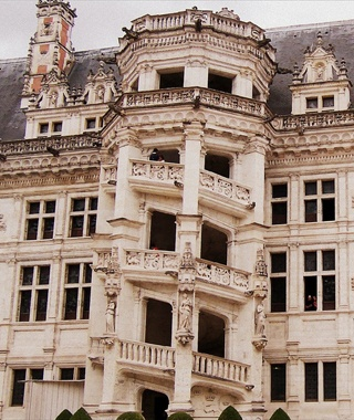 Staircase Tower, Château de Blois, France