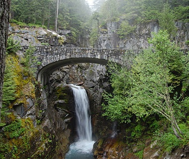 Bridge, Mt. Rainier, WA