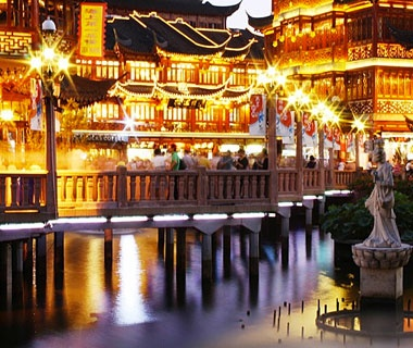Bridge of Nine Turns, Yu Garden, Shanghai