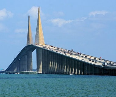Sunshine Skyway Bridge, St. Petersburg, FL