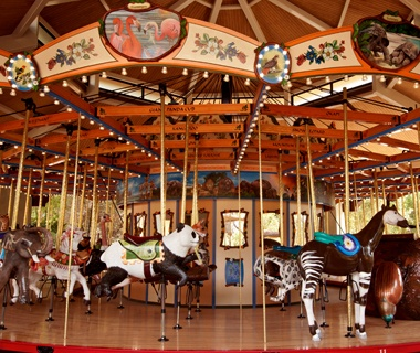Tom Mankiewicz Conservation Carousel, Los Angeles