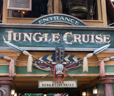Jungle Cruise (Disneyland and Magic Kingdom)