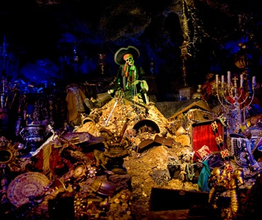 Pirates of the Caribbean (Disneyland and Magic Kingdom)