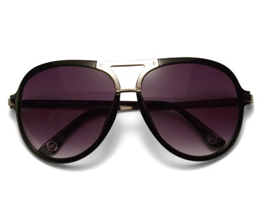 Metal Detailed Aviator Frame, $99, MICHAEL Michael Kors