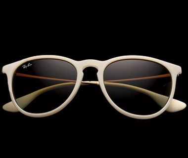 Rubberized Frames, $109, Ray-Ban