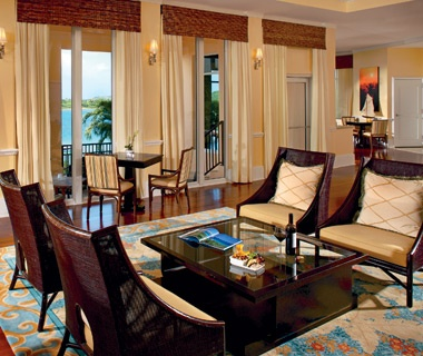 guest room at Ritz-Carlton San Juan Hotel Spa & Casino in Puerto Rico