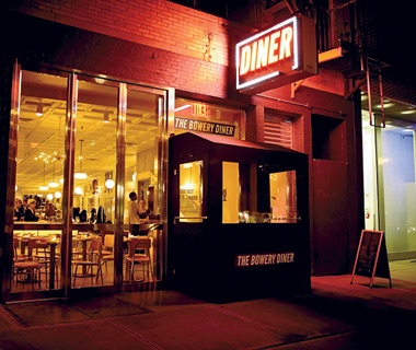 Bowery Diner, New York City