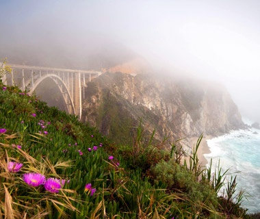Driving to Big Sur, CA