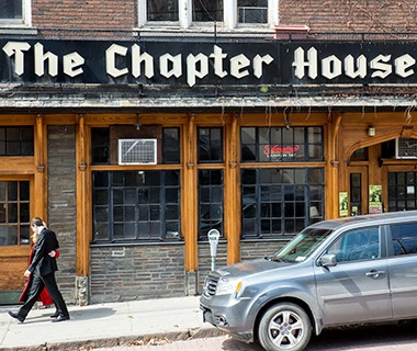 The Chapter House Brew Pub, Cornell, Ithaca, NY