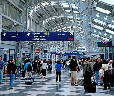 Worst: No. 2 Chicago O'Hare International Airport (ORD)