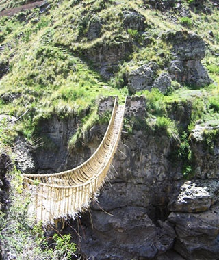 Longest Handmade Bridge: Q'eswachaka Bridge, Canas, Peru