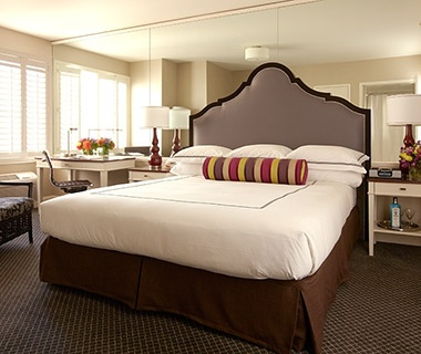 hotel beds at Best Western Plus Tuscan Inn at Fisherman's Wharf, San Francisco