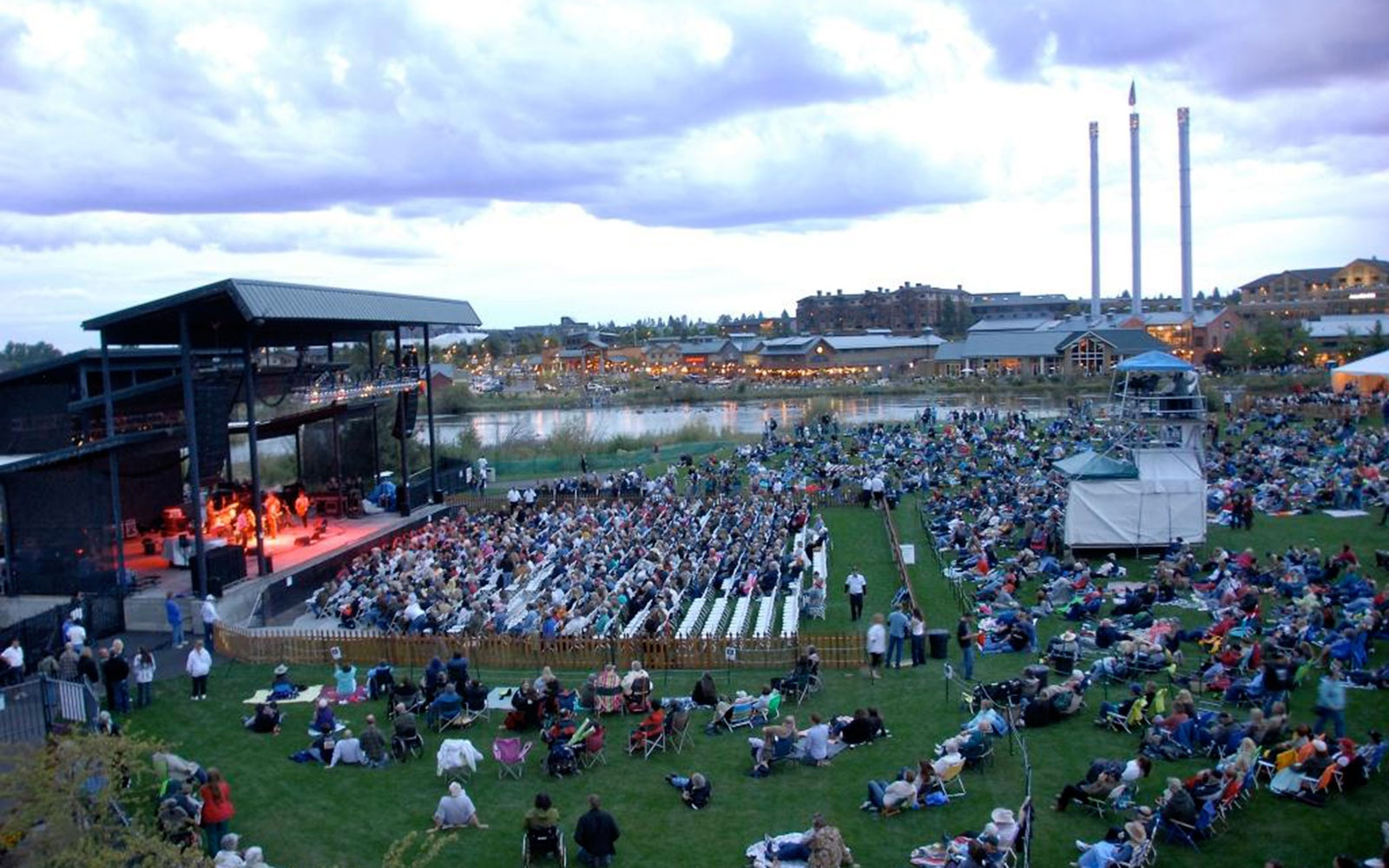 Les Schwab Amphitheater, Bend, OR
