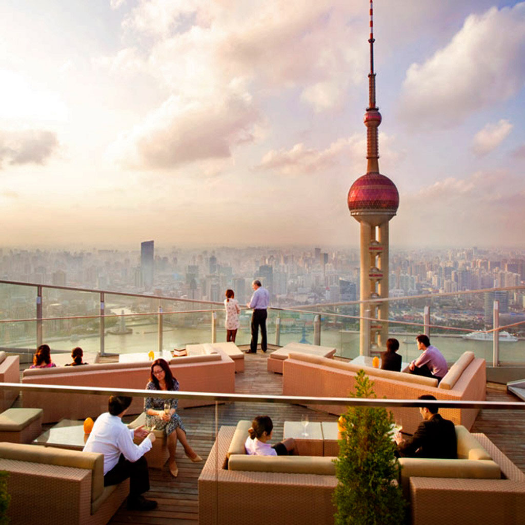 Best Hotel Bars in Shanghai