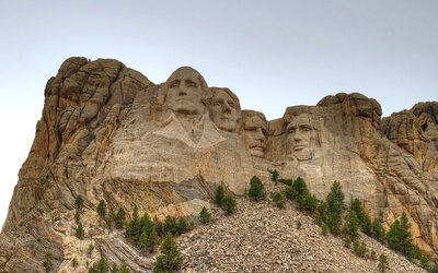 Google Maps Is A Little Confused On Where Mount Rushmore Actually Is - Mount-rushmore-on-us-map