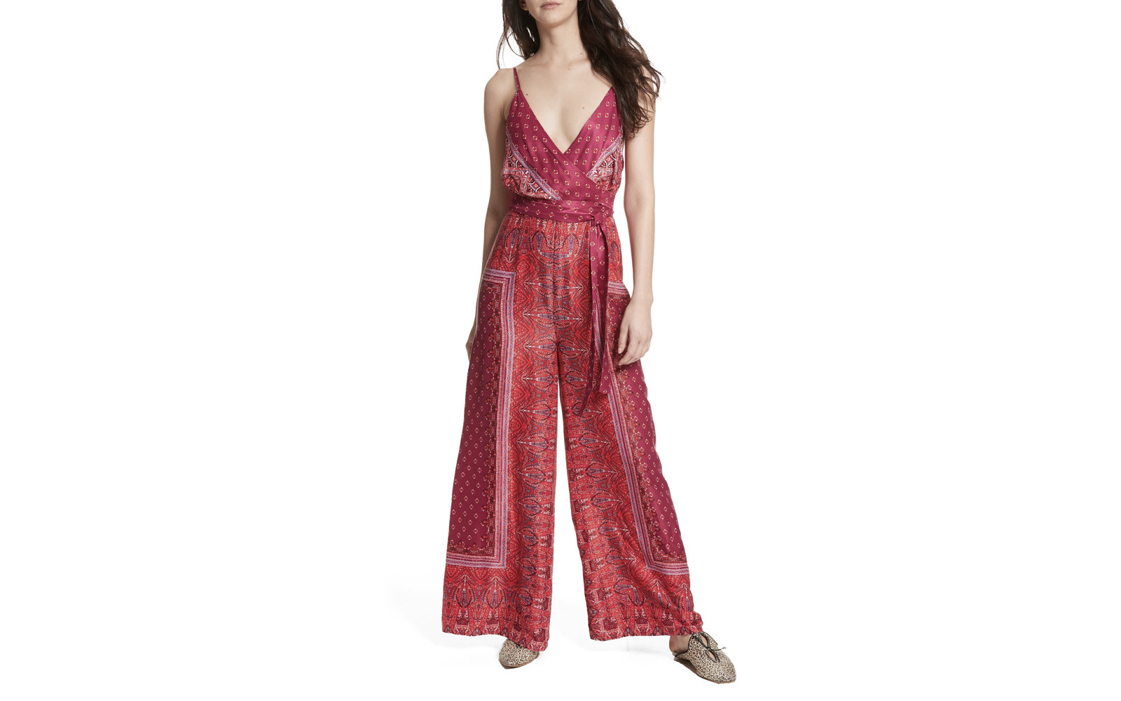 Free People 'Cabbage Rose' Jumpsuit